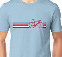 Bike Stripes Coata Rica Unisex T-Shirt
