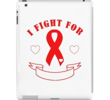 Fight For [Blank Banner] - Red iPad Case/Skin