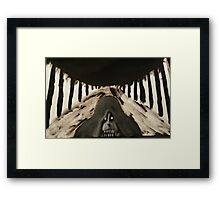 The Reaper, He Comes Framed Print