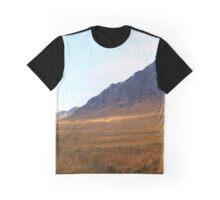 Stunning Glen Coe Panorama Graphic T-Shirt