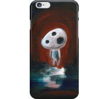 Red Kodama iPhone Case/Skin