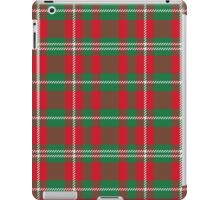 Red and Green Holiday Christmas Tartan Plaid iPad Case/Skin