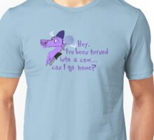 Turned into a cow Emperors new groove  Unisex T-Shirt