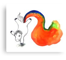 Rainbow Unicorn Farts Canvas Print
