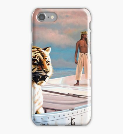 Life Of Pi Painting iPhone Case/Skin
