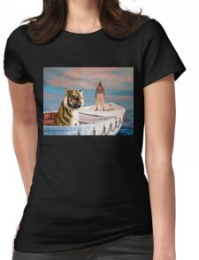 Life Of Pi Painting Womens Fitted T-Shirt
