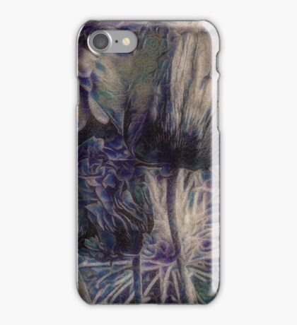 Surreal Painted Poppies iPhone Case/Skin