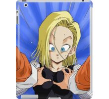 Android 18 Boobgrab iPad Case/Skin