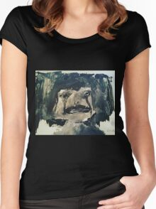 Creepy Little Girl Women's Fitted Scoop T-Shirt