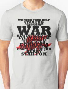 Star Fox -- Pepper's Plea T-Shirt