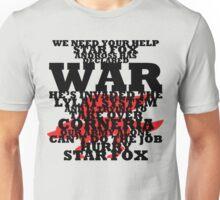 Star Fox -- Pepper's Plea Unisex T-Shirt