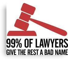 99 Of Lawyers 2 (2c)++ Canvas Print