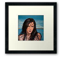 Liv Tyler Painting Framed Print