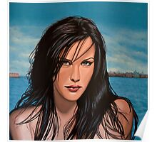 Liv Tyler Painting Poster