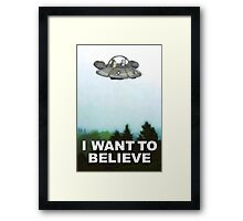 Rick is Out There Framed Print
