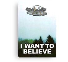 Rick is Out There Canvas Print