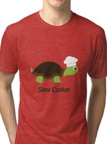 Slow Cooker Tri-blend T-Shirt
