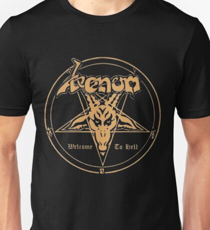 Venom band- Welcome to Hell Unisex T-Shirt