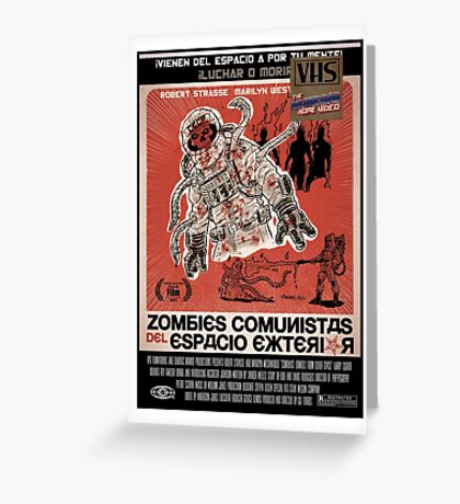 ¡Zombies Comunistas! Greeting Card