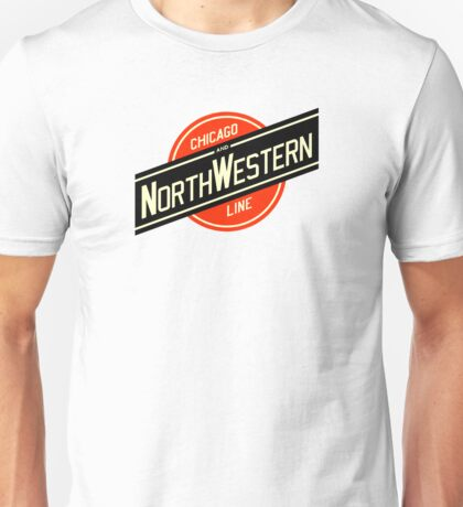 Chicago Northwestern Railroad Unisex T-Shirt