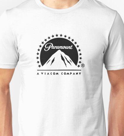 Paramount Pictures - Black Unisex T-Shirt