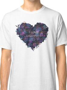 Shopping neon heart Classic T-Shirt