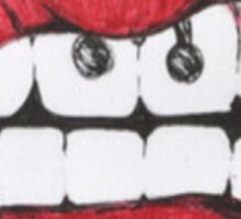 Mouth Drawing Sticker