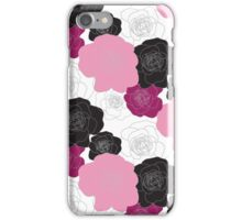 The Pink Bunch iPhone Case/Skin