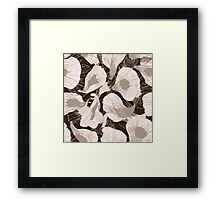 Petals of your flowers Framed Print