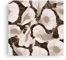 Petals of your flowers Canvas Print