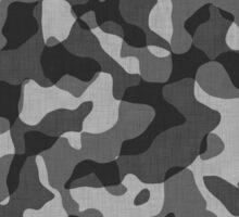 Camo Black Gray  Sticker