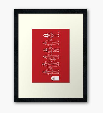 A Family of Scoobies Framed Print