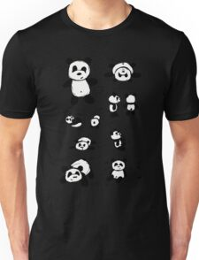 Panda Doodles Unisex T-Shirt