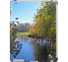 West Branch Iowa River iPad Case/Skin