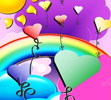Somewhere Over The Rainbow by Karen L Ramsey
