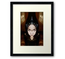 From the night she came Framed Print