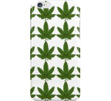 Happy Weed Pattern iPhone Case/Skin