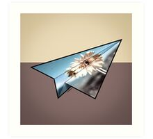Paper Airplane 33 Art Print