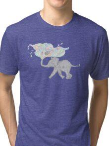 Ellie the Elephant. Tri-blend T-Shirt