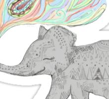 Ellie the Elephant. Sticker