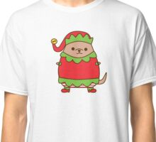 Cute Christmas Elf Pupsheen Classic T-Shirt