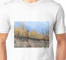 Harsimus Branch Embankment, Autumn View, Jersey City, New Jersey  Unisex T-Shirt
