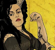 Bellatrix the Riveter by kyohazard