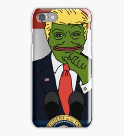 Trump Pepe iPhone Case/Skin
