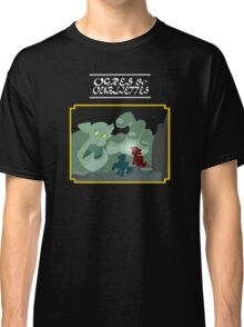 Ogres and Oubliettes - white text Classic T-Shirt