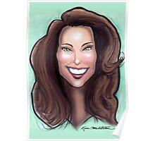 Kate Middleton Caricature Poster