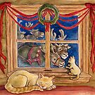 Christmas Visitors by Anneliese Juergensen