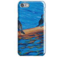 resting cormorants iPhone Case/Skin