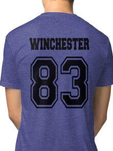 Winchester 83 Sam - Black Tri-blend T-Shirt