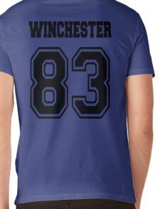 Winchester 83 Sam - Black Mens V-Neck T-Shirt